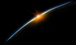 Sunrise from space 2560x1600[1]  landscape